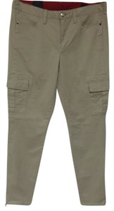 Sperry Topo Sider Skinny Pants Ankle Cargo Jeans-Light Wash