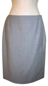 Iceberg 100% Wool Pencil Wool Skirt gray