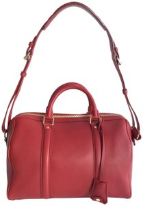 Louis Vuitton Timeless Sofia Coppola Satchel in Red