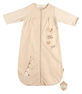 Eotton Certified Organic Cotton Long Sleeve Coverall- Medium (9-12 months)