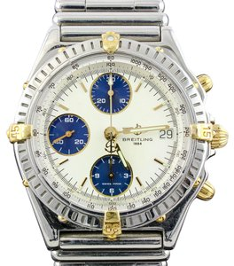Breitling CHRONOMAT VITESSE B13050 STEEL & 18K GOLD AUTOMATIC UNISEX WATCH