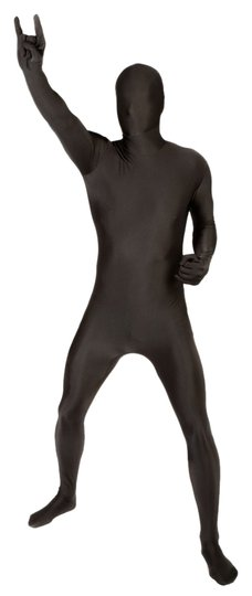 Other Adult Morphsuits - Medium (5'7-5-11) - Black