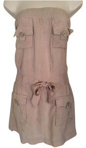 Geri C New York short dress Beige on Tradesy