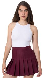 American Apparel Mini Skirt Burgundy