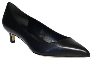Gucci 353701 Pointy Toe Leather Black Pumps