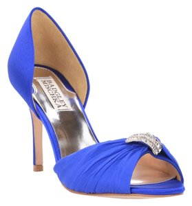 Badgley Mischka Jennifer Sapphire Navy Blue Pumps