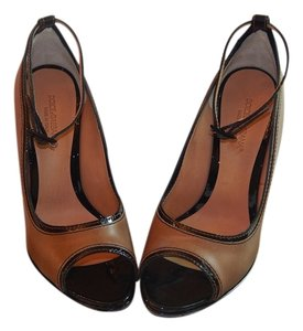 Dolce&Gabbana cognac/dark brown Pumps