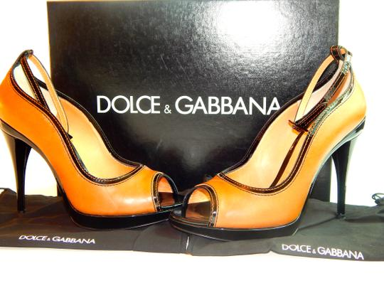 Dolce&Gabbana cognac/dark brown Pumps Image 4