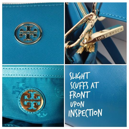 Tory Burch Satchel in Electric Eel