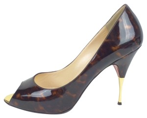 Christian Louboutin Dress Leather brown Pumps