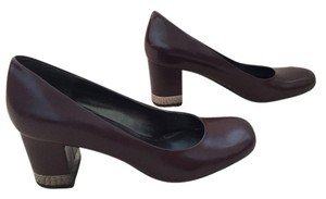 Nine West Wine/burgundy Pumps