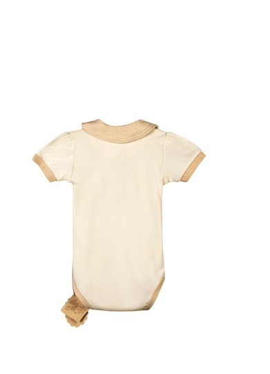 Other Certified Organic Cotton Bodysuit w/ Collar - Small (0-6 Months)