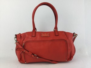 Kate Spade Tory Burch Tote Satchel in Red