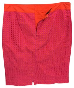 Talbots Maxi Skirt Pink and light orange