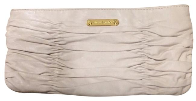 Item - White Leather Clutch