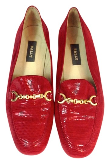 Bally Red Flats