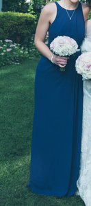 David's Bridal Marine (Navy) F15638 Dress