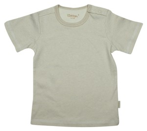 Eotton Certified Organic Cotton Striped T-Shirt- large (12-18 months)