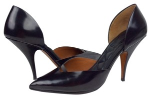 Céline Leather Black Pumps