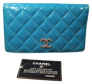Chanel Chanel Patent Wallet