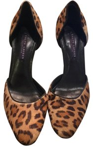 Ralph Lauren Collection Leopard Pumps