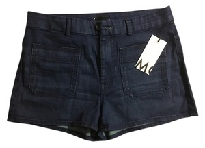 Mother Mini/Short Shorts Denim: Wash: Bright Eyes