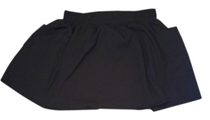 Sound & Matter Pacsun Pocket Polyester Mini Skirt Black