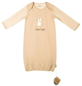 Eotton Certified Organic Cotton Long Sleeve Baby Shirt-Small 0-6 mo