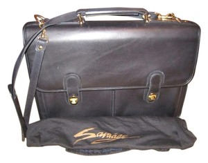 Savage Briefcase Leather Laptop Messenger Unisex Laptop Bag