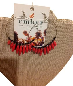 Ember Plume Earrings