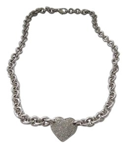 Other Pave' Diamond Heart Charm with 20