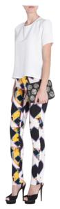 Peter Pilotto Trendy Print Spring Runway Tastemaker High Fashion Couture Haute Skinny Pants
