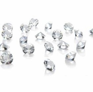 Clear - 10 000x 6.5mm 1 Ct Acrylic Diamond Scatter Confetti