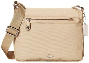 Coach Nylon Swingpack Messenger 35502 Handbag Cross Body Bag