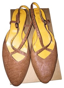 Henry Cuir Brown Flats