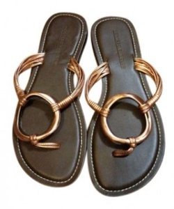 Montego Bay Club Brown with Copper Sandals