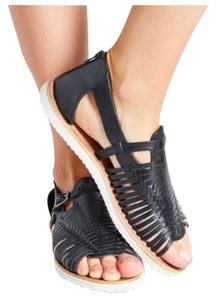 Urban Outfitters Gladiator Leather Espadrille Flats