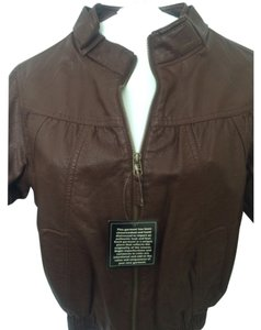 Hot Kiss Brown Jacket