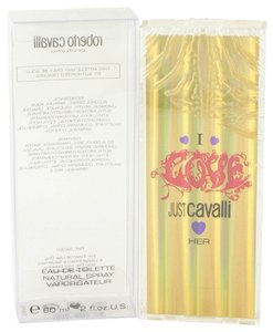 Roberto Cavalli I LOVE HER by ROBERTO CAVALLI ~ Women's Eau de Toilette Spray 2 oz