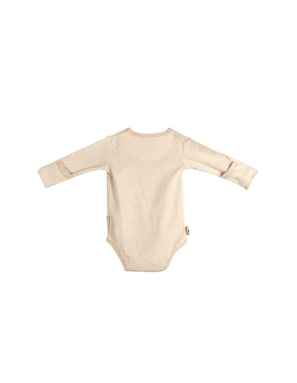 Eotton Certified Organic Cotton Baby Pullover Bodysuit - Small (3-6 Months)