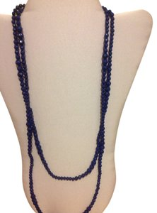 Danielle Stevens Dark Blue Arclyic Necklace