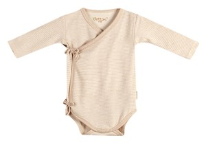 Eotton Certified Organic Cotton Baby Pullover Bodysuit - Medium (6-9 Months)