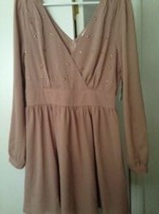 Charming Charlie short dress Dusty Rose on Tradesy