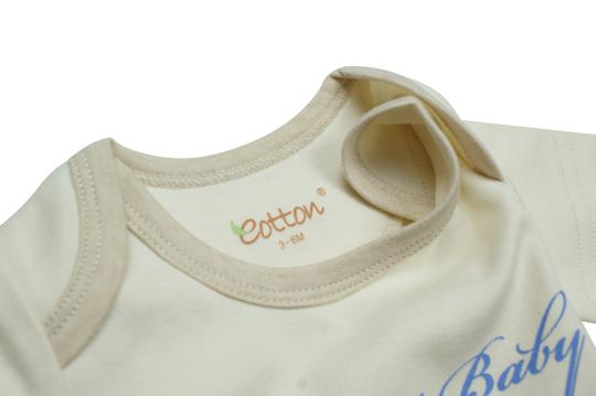 Eotton Certified Organic Cotton Sport Baby Bodysuit-small (3-6 months)