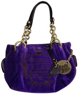 Juicy Couture Satchel in Purpel