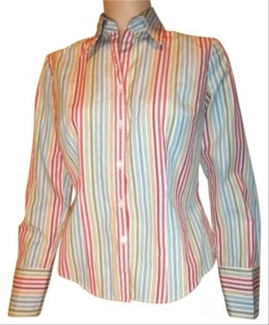 Preload https://item1.tradesy.com/images/ann-taylor-striped-button-down-shirt-120815-0-0.jpg?width=400&height=650