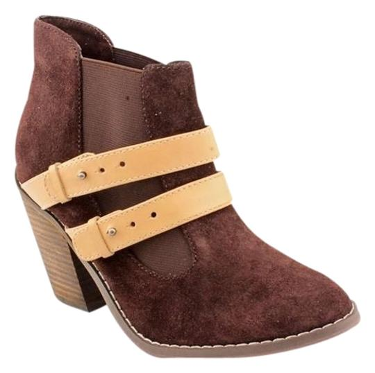 Kelsi Dagger Suede Deep Chocolate Brown Boots
