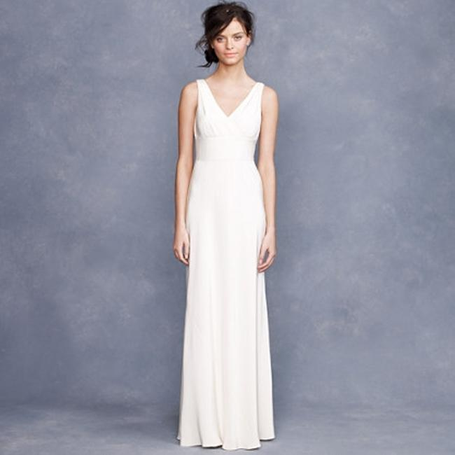 Item - Ivory Silk Sophia Gown Modern Wedding Dress Size 12 (L)