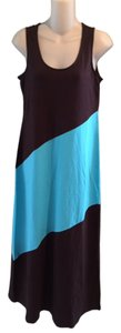 Brazil Nut Maxi Dress by Tommy Bahama Brown Blue Maxi Long