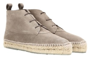 Balenciaga Boot Espadrille Suede Beige Lace-up Grey Athletic